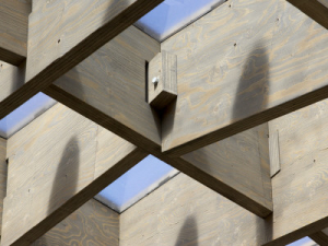 wooden structure construction