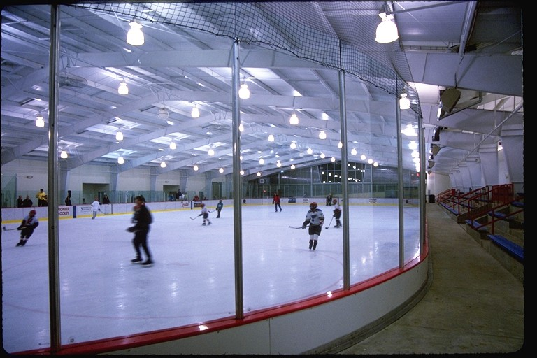 ice rink barrier
