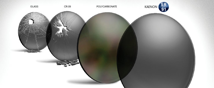 polycarbonate is of high impact resistance